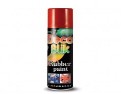 Краска резиновая Deco Blik флуоресцентная красная RRL 1001 - интернет-магазин tricolor.com.ua