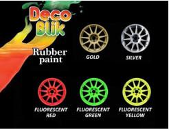 Краска резиновая Deco Blik флуоресцентная красная RRL 1001 - изображение 2 - интернет-магазин tricolor.com.ua