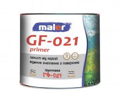 Грунт антикоррозионный Maler ГФ-021 красно-коричневый