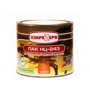 Лак нитроцеллюлозный мебельный Khimrezerv Pro НЦ-243 матовый