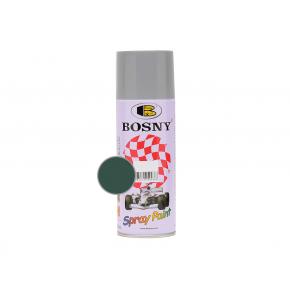Акриловая аэрозольная краска Bosny RAL6005 зеленая ива