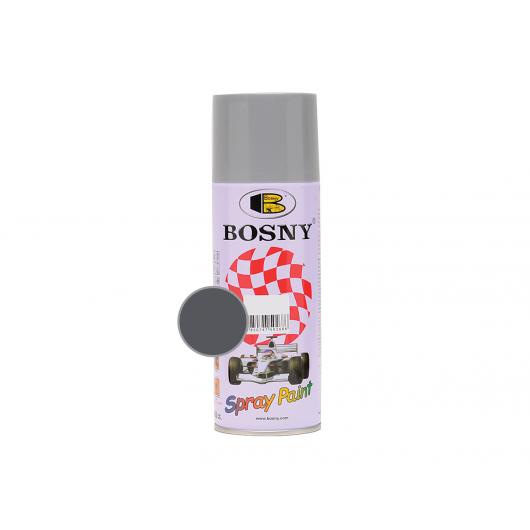 Акриловая аэрозольная краска Bosny RAL7016/7024 темно-серый