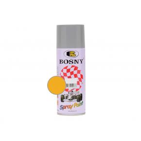 Акриловая аэрозольная краска Bosny RAL1003 желтый лимон