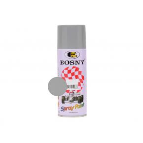 Акриловая аэрозольная краска Bosny RAL9006 серебряный