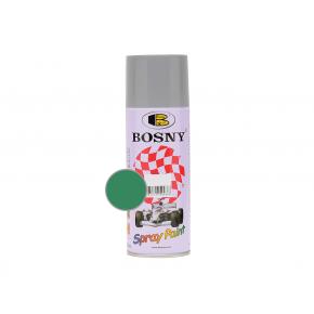 Акриловая аэрозольная краска Bosny RAL6032 зеленая трава