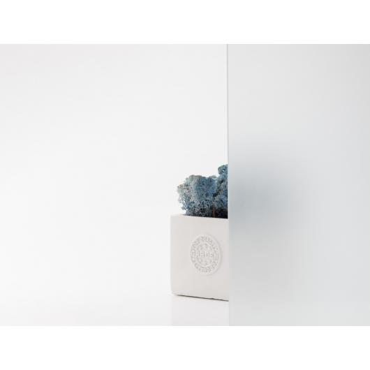 Стеклянная полка в форме V диамант матовая, без крепления (8/200 мм) - изображение 3 - интернет-магазин tricolor.com.ua