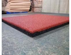 Резиновая плитка Eco Gumka 500x500x20 мм красная - изображение 4 - интернет-магазин tricolor.com.ua