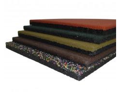 Резиновая плитка Eco Gumka 500x500x20 мм зеленая - изображение 2 - интернет-магазин tricolor.com.ua