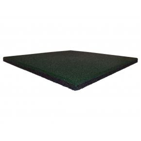 Резиновая плитка Eco Gumka 500x500x20 мм зеленая - интернет-магазин tricolor.com.ua