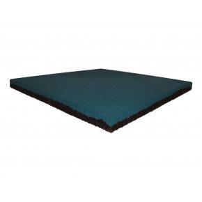 Резиновая плитка Eco Gumka 500x500x20 мм синяя - интернет-магазин tricolor.com.ua