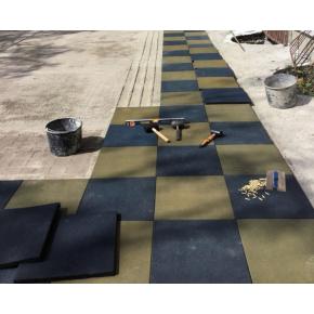 Резиновая плитка Eco Gumka 500x500x20 мм желтая - изображение 5 - интернет-магазин tricolor.com.ua