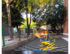 Резиновая плитка Eco Gumka 500x500x20 мм желтая - изображение 4 - интернет-магазин tricolor.com.ua