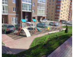Резиновая плитка Eco Gumka 500x500x20 мм желтая - изображение 3 - интернет-магазин tricolor.com.ua