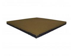 Резиновая плитка Eco Gumka 500x500x20 мм желтая - интернет-магазин tricolor.com.ua