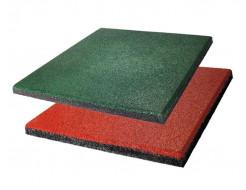 Резиновая плитка Eco Gumka 500x500x30 мм зеленая - изображение 3 - интернет-магазин tricolor.com.ua