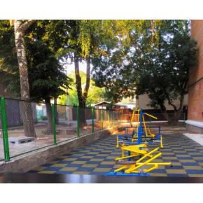 Резиновая плитка Eco Gumka 500x500x30 мм желтая - изображение 6 - интернет-магазин tricolor.com.ua