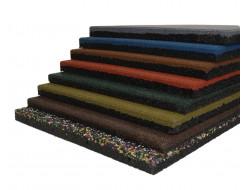 Резиновая плитка Eco Gumka 500x500x30 мм коричневая - изображение 2 - интернет-магазин tricolor.com.ua