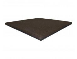 Резиновая плитка Eco Gumka 500x500x30 мм коричневая - интернет-магазин tricolor.com.ua