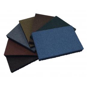 Резиновый бордюр Gumka 500x250x40 мм синий - изображение 3 - интернет-магазин tricolor.com.ua