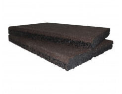Резиновый бордюр Gumka 500x250x40 мм коричневая