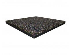 Резиновая плитка Zefir 500x500x30 разноцветная - интернет-магазин tricolor.com.ua