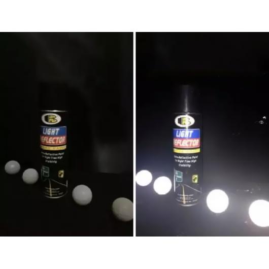 Светоотражающий лак Bosny Light Reflector серый - изображение 2 - интернет-магазин tricolor.com.ua