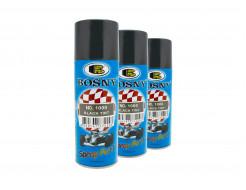 Аэрозольный тонировочный лак для фар Bosny Black Tint 1000 - изображение 2 - интернет-магазин tricolor.com.ua
