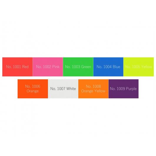 Аэрозольная акриловая краска Bosny с флуоресцентным эффектом ярко-оранжевая - изображение 2 - интернет-магазин tricolor.com.ua