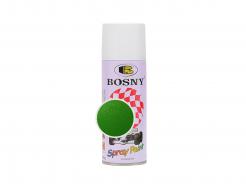 Аэрозольная акриловая краска Bosny c эффектом металлик зеленый сад