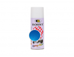 Аэрозольная акриловая краска Bosny c эффектом металлик светло-синяя