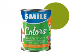 Эмаль алкидная Smile ПФ-115 Хаки - интернет-магазин tricolor.com.ua