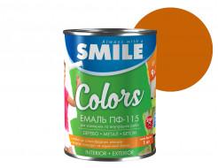 Эмаль алкидная Smile ПФ-115 Орех - интернет-магазин tricolor.com.ua