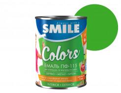Эмаль алкидная Smile ПФ-115 Светло-зеленая - интернет-магазин tricolor.com.ua