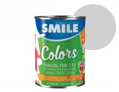 Эмаль алкидная Smile ПФ-115 Серая - интернет-магазин tricolor.com.ua