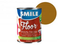 Эмаль алкидная Smile ПФ-266 для пола Желто-коричневая