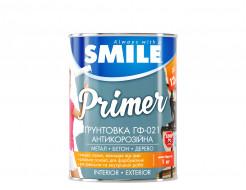 Грунт алкидный Smile ГФ-021 по дереву и металлу белый