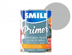 Грунт алкидный Smile ГФ-021 по дереву и металлу серый