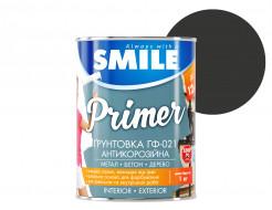 Грунт алкидный Smile ГФ-021 по дереву и металлу черный