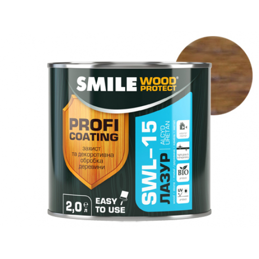 Лазурь алкидная Smile Wood Protect SWL-15 Палисандр