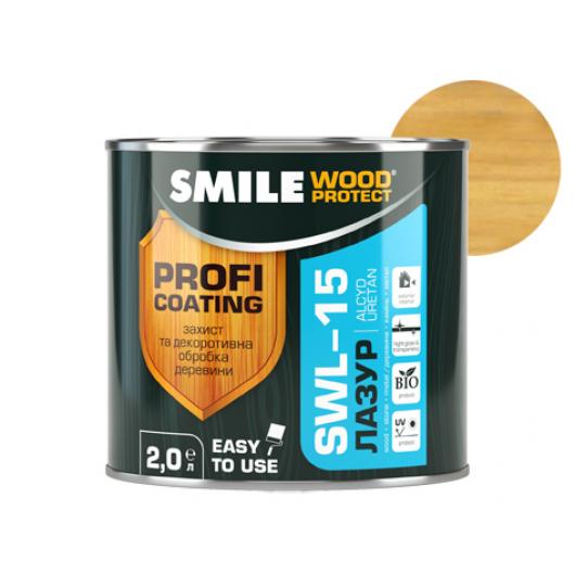 Лазурь алкидная Smile Wood Protect SWL-15 Сосна