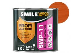 Пропитка для дерева Smile Wood Protect Бейц SWP-11 Махагон