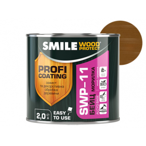 Пропитка для дерева Smile Wood Protect Бейц SWP-11 Олива