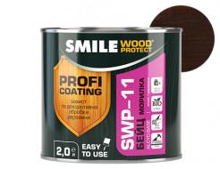 Пропитка для дерева Smile Wood Protect Бейц SWP-11 Черное дерево