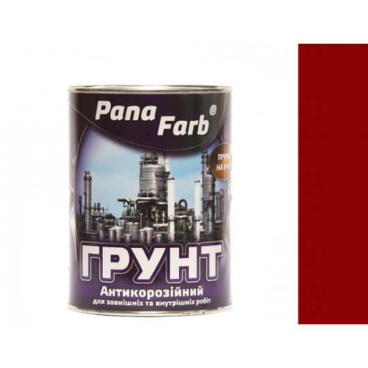 Грунт PanaFarb ГФ-021П по дереву и металлу красно-коричневый