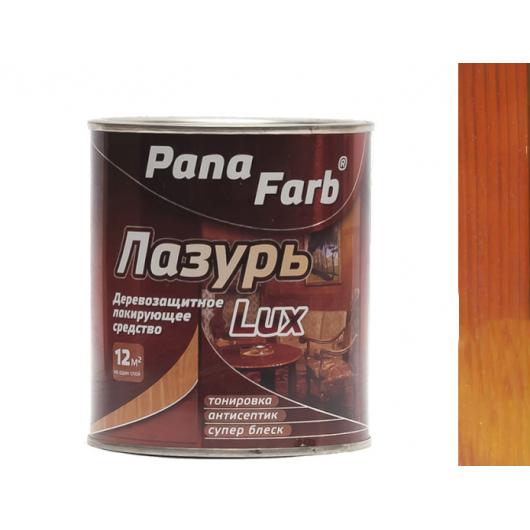 Лазурь для дерева лакирующая PanaFarb Лазурь Lux Махагон