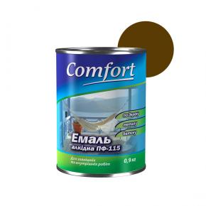 Эмаль алкидная Comfort ПФ-115 Коричневая