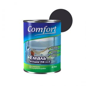 Эмаль алкидная Comfort ПФ-115 Черная