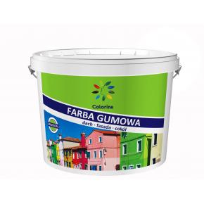 Краска резиновая Colorina для крыш Белая - интернет-магазин tricolor.com.ua