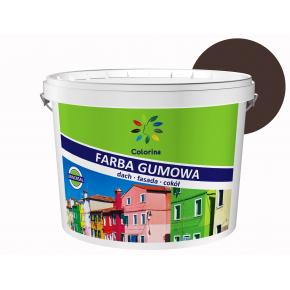 Краска резиновая Colorina для крыш Коричневая RAL 8017 - интернет-магазин tricolor.com.ua