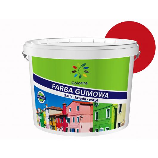 Краска резиновая Colorina для крыш Красная RAL 3020 - интернет-магазин tricolor.com.ua